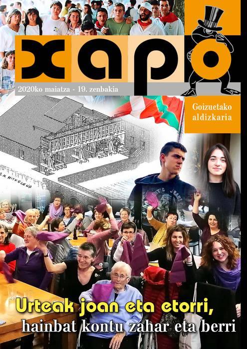 'Xapo' aldizkariaren 19. zenbakia plazaratu dute