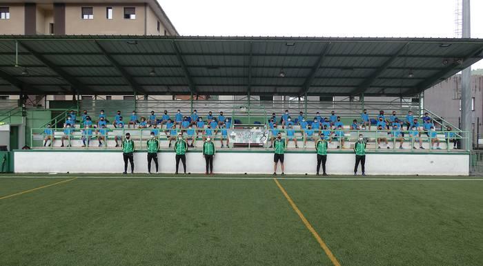Futbol Campusaren lehen txanda egin dute Lesakan baina ez da bigarrenik izanen