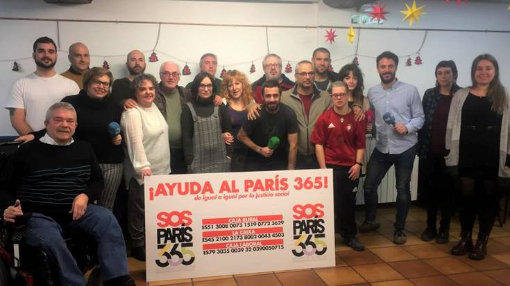 Ekonomia arazoengatik, Paris 365 jantoki solidarioa ixteko arriskuan dago