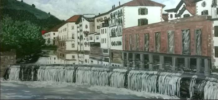 JL Torralba artistaren pintura-erakusketa ikusgai izanen da azaroaren 11tik 24ra Arizkunenean