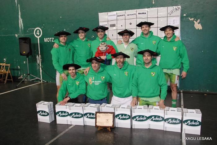 640 kiloko Euskadiko txapelketa ere irabazi du Beti Gaztek