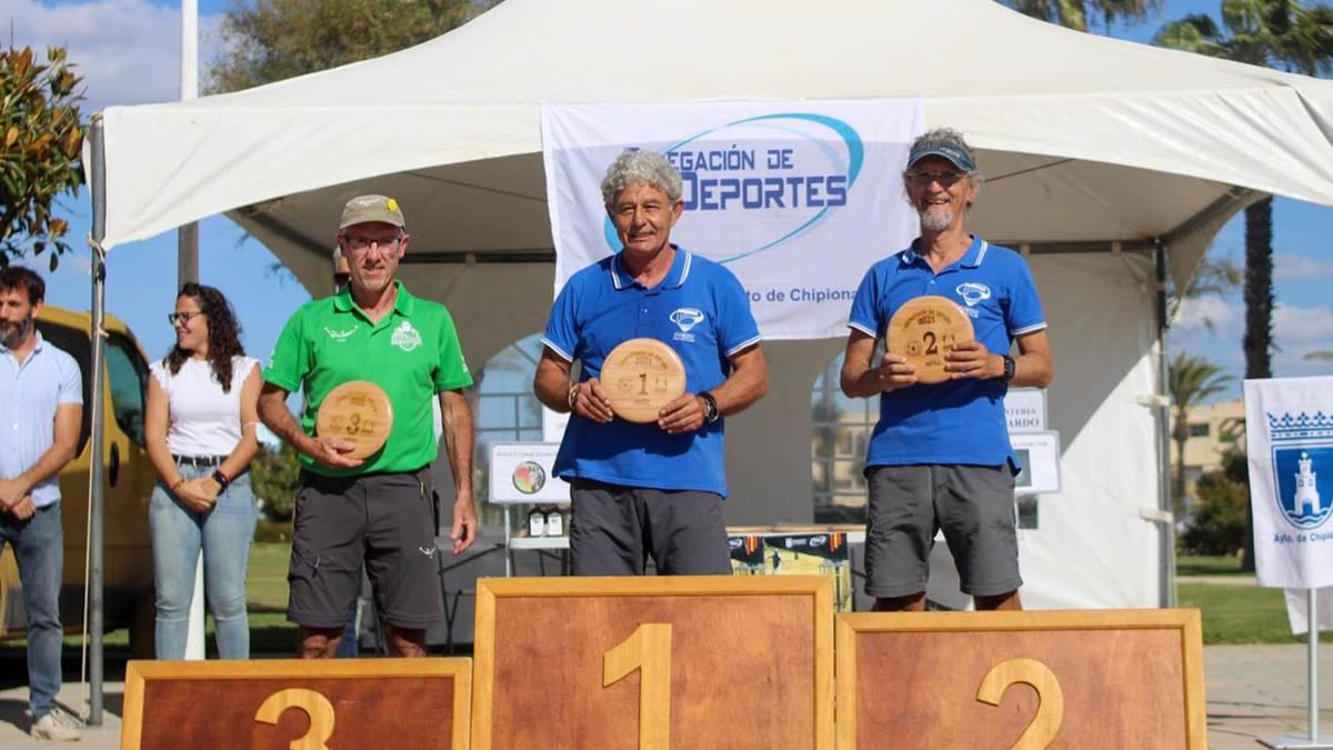 Mikel Ibarrola doneztebarra podiumera igo da Espainiako Disc Golf txapelketan