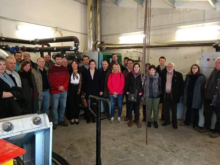 Berako biomasa sarearen berri izan du Promobiomasse nazioarteko proiektuko batzorde teknikoak