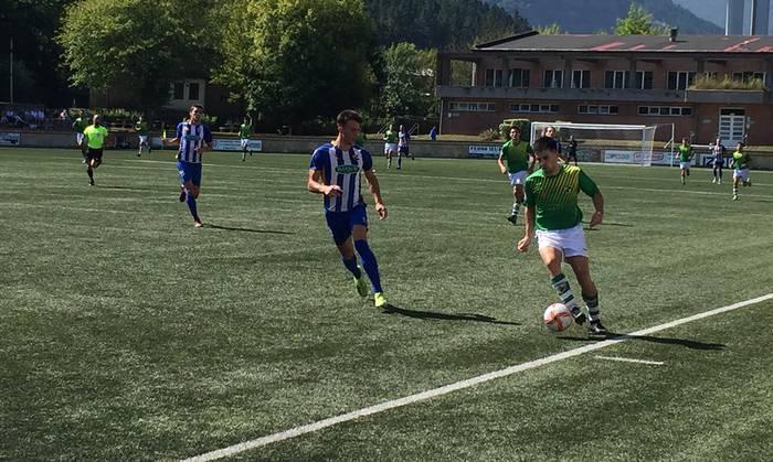 Beti Gazte futbol taldeak gaur Urdulizen jokatuko du ligako partida