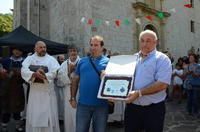 Jose Javier Zubillaga zena gogoratu dute Urdazubiko XI. Burniaren Egunean