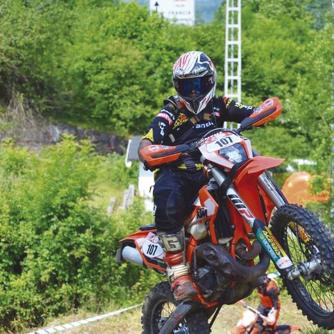 Alberto Aranburuk irabazi du Bertizaranako Enduro proba
