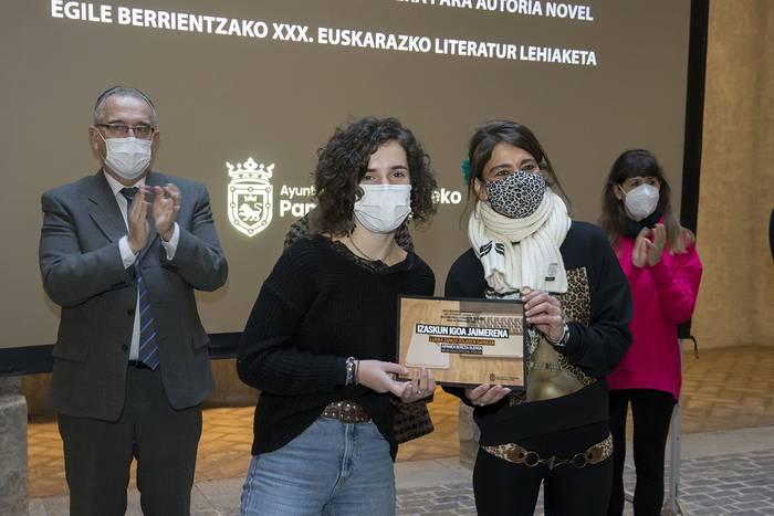 Zigako Izaskun Igoa Jaimerenaren poesiak aipamen berezia izan du Iruñeko Udalaren 30. Literatur lehiaketan