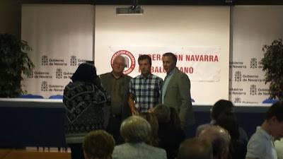 Atzo jaso zuen Joseba Legarra, Erreka Kirol Elkart