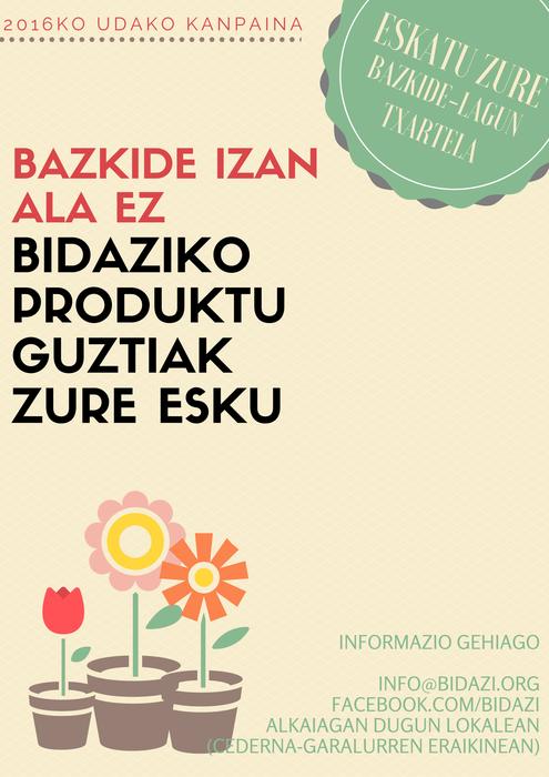2016ko udako kanpaina: Bazkide-lagun txartela