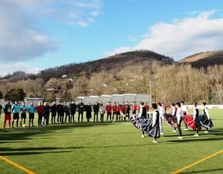 Giltxaurdi berrituaren inaugurazioaren ondotik galdu egin zuen Baztan futbol talde nagusiak