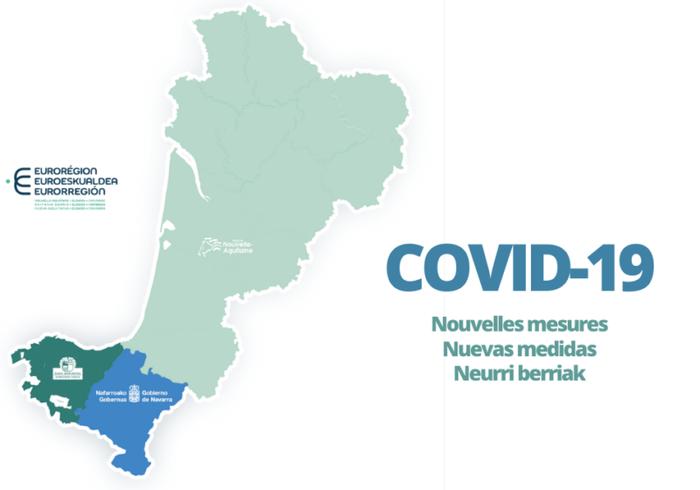 Covid-19a dela eta, zer dago baimendua Euskal Herriko lurralde bakoitzean?