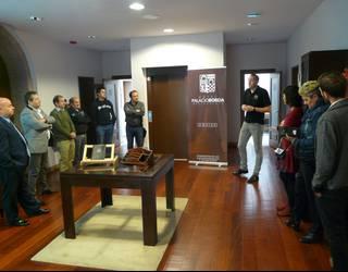 Amaiurko Palacio Borda hotela inauguratu dute urriaren 6an