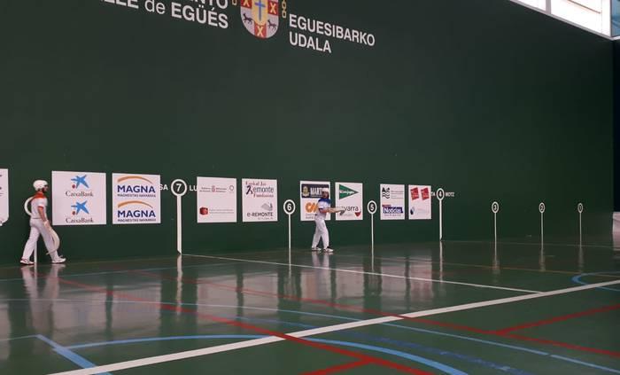 Uterga-Barricart eta Ezkurra II.a-Saldias izanen dira Iruñerriko I. Erremonte Profesionaleko txapelketaren finalean