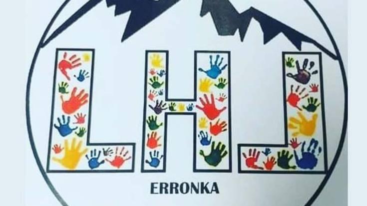 Logo berria aukeratu du LHL Erronkak Erleta eskolako haurren eskutik