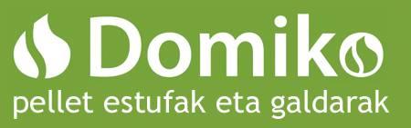 DOMIKO berokuntza jasangarria logotipoa