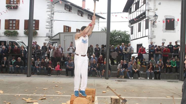 Zigako Joxean Etxeberria laugarren izan da Euskal Herriko 2. mailako aizkora txapelketan