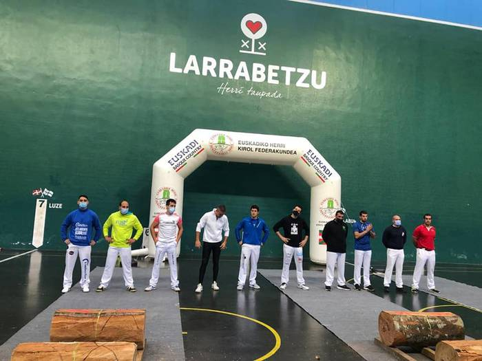 Euskal Herriko hirugarren mailako aizkora txapelketako finalean izanen da Patxi Mindegia