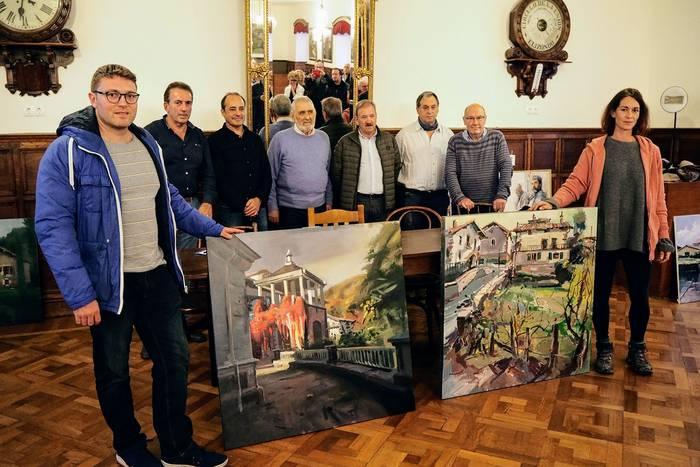 Bianako Johana Soldevillak irabazi du Elizondoko Kasinoko margo lehiaketa