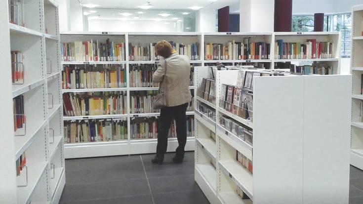 Lesakako liburutegia itxiko dute astebetez