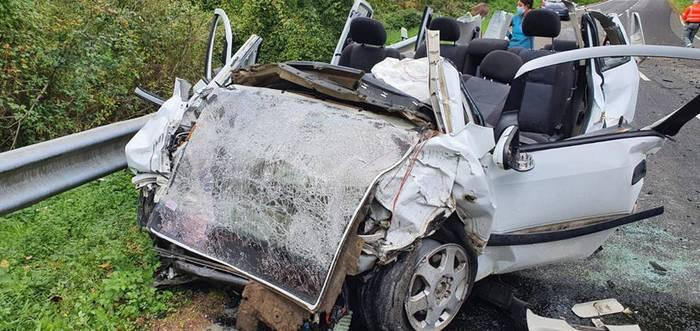 Pertsona bat hil da Amaiurren izandako auto istripu batean