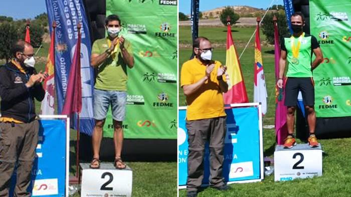 Bakoitzak bere kategorian, Jon Medranok eta Ramontxo Arandiak bigarren postua eskuratu dute Ipar Martxako Espainiako Kopan