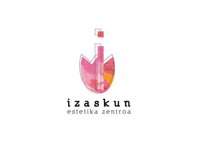 Izaskun Estetika Zentroa logotipoa