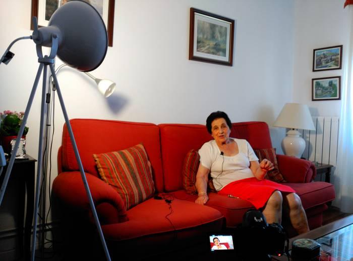 Donostia2016-k 'Neskatoak' dokumentala egiteko laguntza eman dio Jon Abril beratarrari