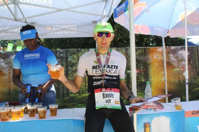 Challenge Roth triatloia marka bikainarekin bukatu du Bixente Igarzabal lesakarrak