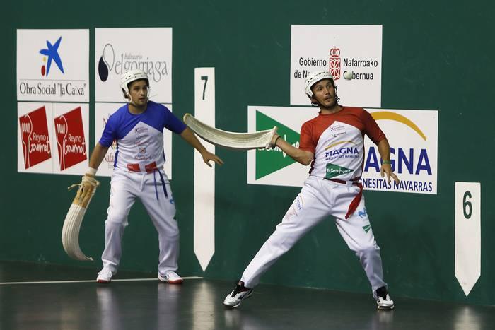 Larunbateko partida galduagatik, Uterga eta Otano Nafarroako erremonte torneoan lehenbiziko postuan daude