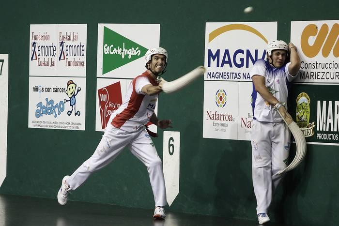 Nafarroako erremonte txapelketako final laurdenetako ligaxkan galdu egin dute Juaneneak eta Zubirik