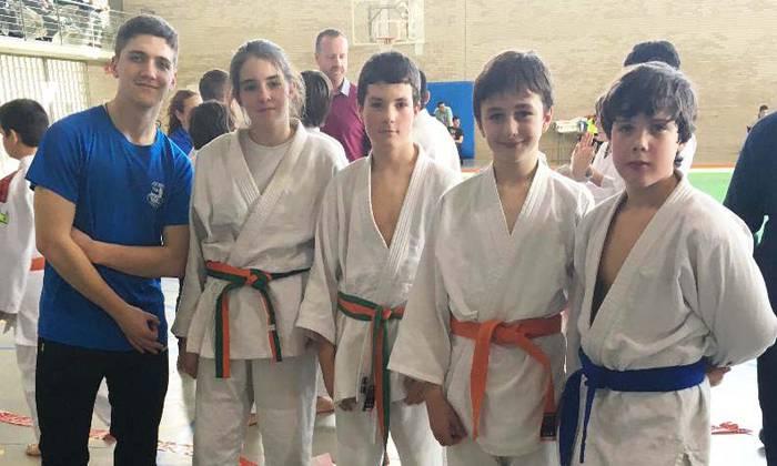 Eskualdeko sei kirolari Nafarroako judo txapelketan