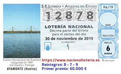 Espainiako Loteriaren lehen sariaren 60.000 euro Doneztebera