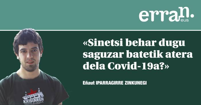 Biosegurtasuna eta Covid-19a