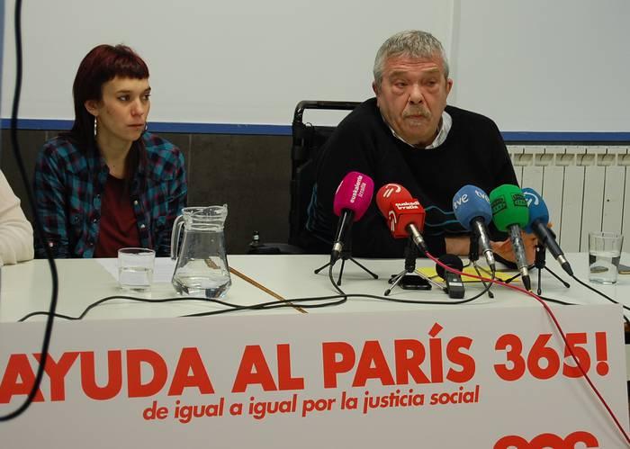 Paris 365 jantoki solidarioa ez dute itxiko