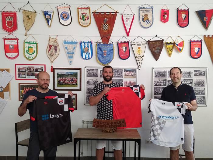 Igotz Garde izanen da Baztan futbol talde nagusiko entrenatzailea berriz ere