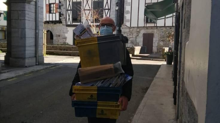 Oskar Txoperena Igantziko postariak erretiroa hartu du