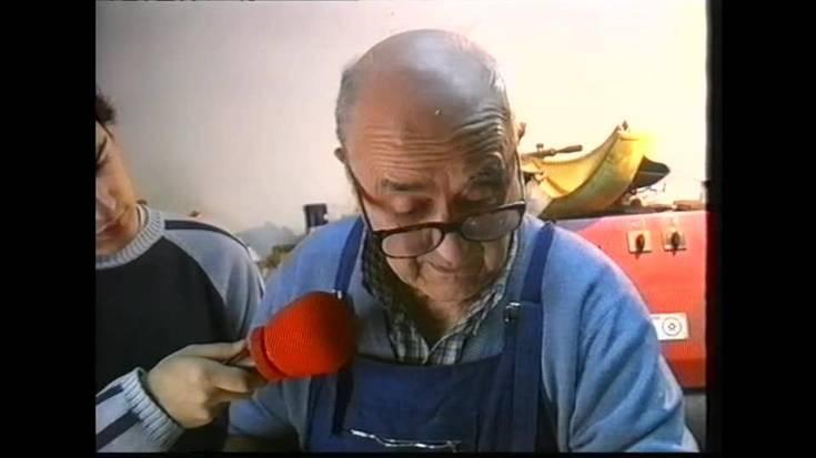 Beintza-Labaiengo Florentino Ibarra azken guante-egilearekin solasean 2002an