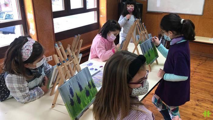 Pintura tailerra emanen dute apirilaren 6an eta 7an Zubietan