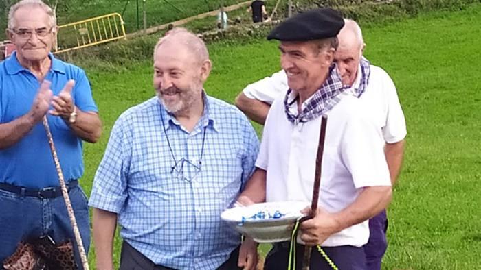 Laugarren eta zazpigarren postuak lortu ditu Antonio Alustizak Euskal Herriko Artzain Txakur Txapelketan