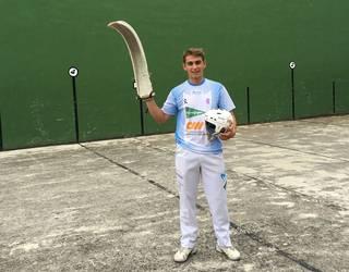 Profesionalekin batera lehen partida jokatu du Aimar Saldias erremontelari oiztarrak