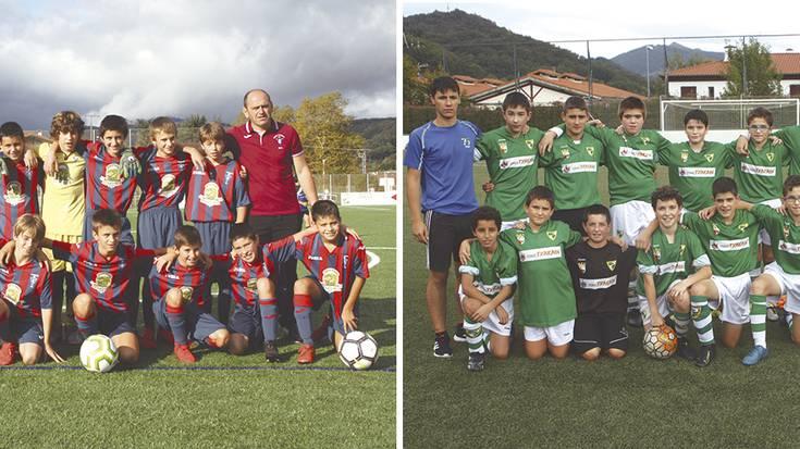 Infantil mailako futbol derbia jokatuko dute Gure Txokoak eta Beti Gaztek