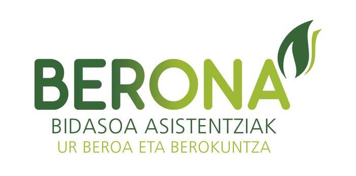 BERONA. Berokuntza, gasa, biomasa eta klimatizazioa logotipoa