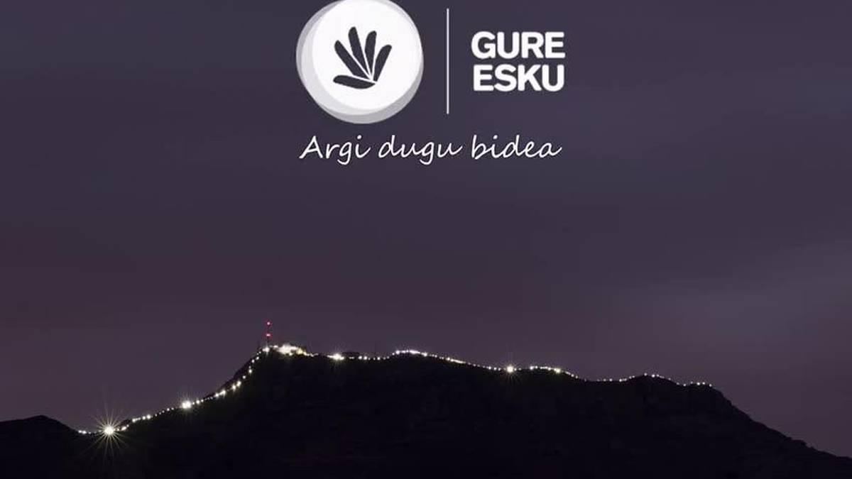 Larun argiztatua bideoan bildu du Gure Eskuk