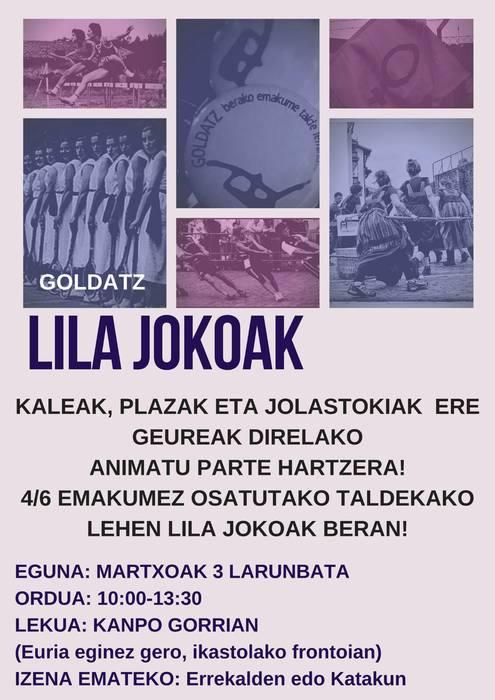 LILA JOKOAK 2018