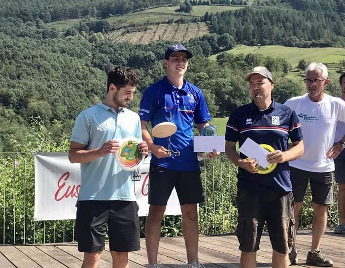 Nathan Lannelucek irabazi du Nafarroako lehen DiscGolf irekia Igantzin