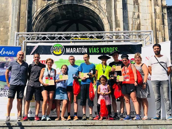 Plazaola Natur Bideko maratoian eta maratoi erdian parte hartzeko izen-ematea zabalik