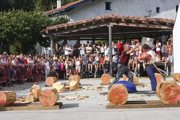 San Agustin eguna abuztuaren 28an Artikutzan