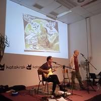 'Arkanbele Kantak' poema errezitaldi musikatua eginen dute ortzegunean Harriondoan