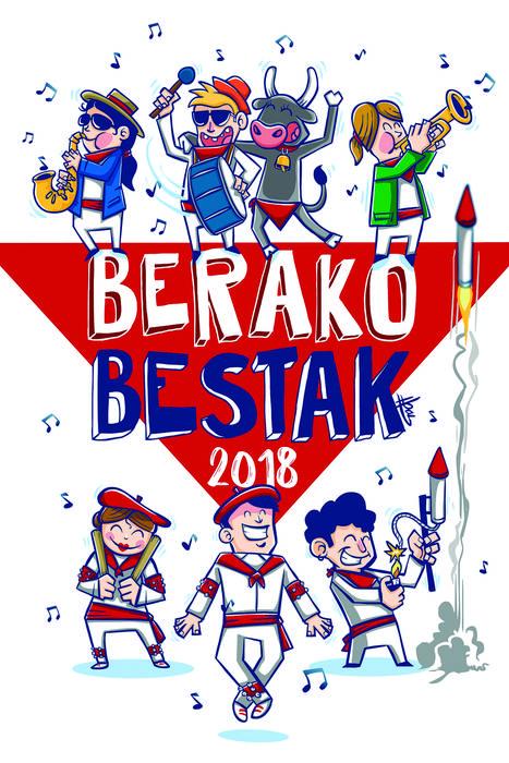 Ibai Etxarrik irabazi du 2018ko Berako bestetako egitarauaren azal lehiaketa