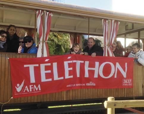 AFM Telethon elkartearen aldeko hitzordua izanen dute abenduaren 8an Saran